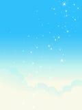 Cloudscape lucido. Fotografie Stock