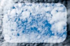 Cloudscape Luftblase lizenzfreie stockfotografie