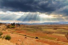 Cloudscape Madagáscar Fotos de Stock Royalty Free