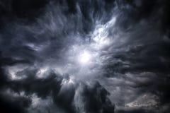 Cloudscape met een Licht Royalty-vrije Stock Fotografie