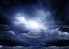 Cloudscape met een Zonlicht Royalty-vrije Stock Foto's