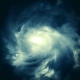 Cloudscape mit Ray des Lichtes Stockbilder