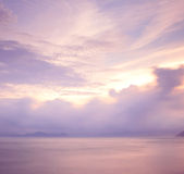 Cloudscape at morning Royalty Free Stock Photos