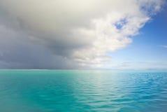Cloudscape na transição Fotos de Stock Royalty Free