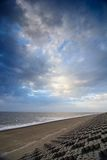 Cloudscape nad morze Zdjęcie Stock