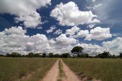 cloudscape namibijski piękna zdjęcie royalty free