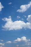 Cloudscape over horizon. Stock Photos