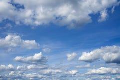Cloudscape over horizon. Stock Photo