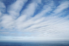 Cloudscape Over Sea Royalty Free Stock Images
