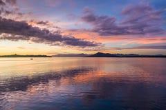 Cloudscape på soluppgång Royaltyfria Foton