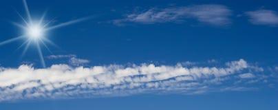Cloudscape Panorama Stock Photos