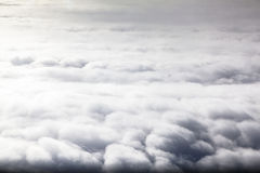 Cloudscape. Panoramic Clouds in the sky Royalty Free Stock Images