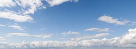 cloudscape panoramiczny Zdjęcia Stock