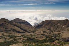 Cloudscape Pico do Arieiro Στοκ Φωτογραφίες