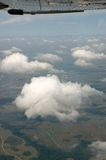 cloudscape powietrzny widok Obraz Stock