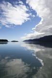 Cloudscape reflected in Southeast Alaska Stock Photos
