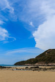 Cloudscape at Sai Kaew beach Stock Photography