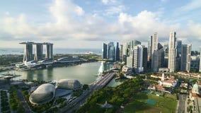 Cloudscape a Singapore video d archivio