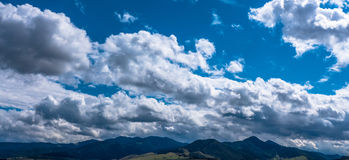 Cloudscape on the sky Royalty Free Stock Image