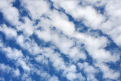 Cloudscape  - only sky and clouds Stock Photography