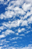 Cloudscape  - only sky and clouds Royalty Free Stock Photography