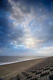 Cloudscape sobre el mar Foto de archivo
