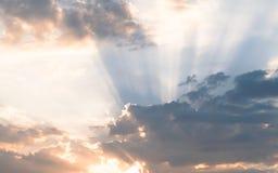 Cloudscape am Sonnenuntergang Lizenzfreie Stockfotografie