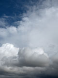 Cloudscape before storm Royalty Free Stock Photography