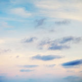 Cloudscape With Stratocumulus Clouds Stock Photos