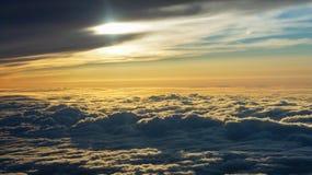 Cloudscape with Sun Stock Photos