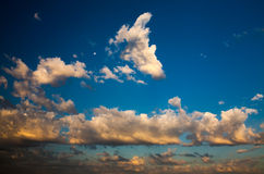 Cloudscape at sunrise Royalty Free Stock Photos