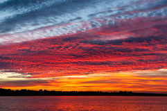 Cloudscape at sunset Royalty Free Stock Image