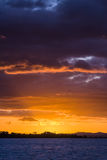 Cloudscape at sunset Royalty Free Stock Photography