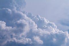 Cloudscape tła obrazek Obraz Stock