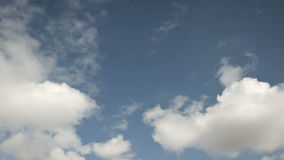 Cloudscape tidschackningsperiod lager videofilmer