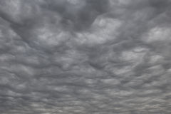 Cloudscape. Unique cloudscape in the sky above the Hondo Texas area royalty free stock photography