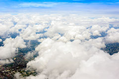 Cloudscape view form air plane Stock Photos