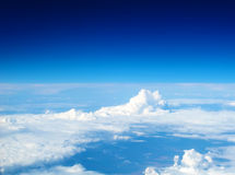 Cloudscape widok Zdjęcia Royalty Free