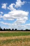 cloudscape wieś Fotografia Stock