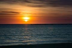 Cloudscape zamorski Obraz Royalty Free