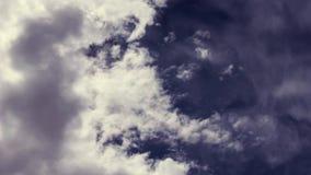 Cloudscape-Zeitspanne stock footage