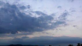 Cloudscape-Zeitspanne stock video footage