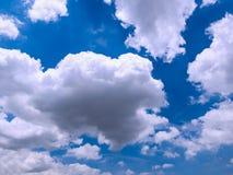 Cloudspace hermoso en el cielo azul Fotografía de archivo libre de regalías
