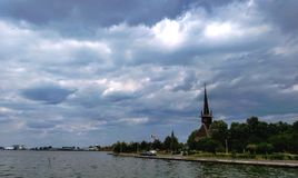 cloudy Foto de Stock Royalty Free