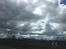 cloudy foto de stock