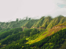 Cloudy afternoon in Binh Lieu Stock Photography