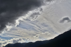 Cloudy Afternoon, Chilean Patagonia Royalty Free Stock Photography