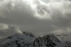 Cloudy Alps Stock Photos