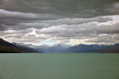 Cloudy alps Royalty Free Stock Image