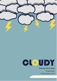 Cloudy Royalty Free Stock Photos